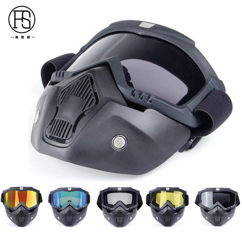 Ultralight Outdoor CS Game Tactical Maks Googles Airsoft Sport Breathable Motorcycle Windproof Goggles Full Face Masks