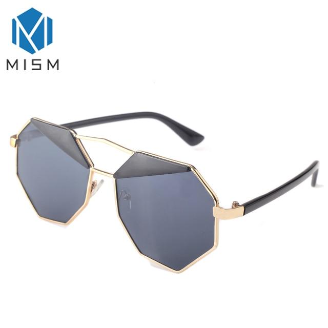 61d4bea2a C MISM جديد الرجال امرأة الصيف النظارات الشمسية القيادة أشعة الشمس حماية  المعادن إطار نظارات كبيرة