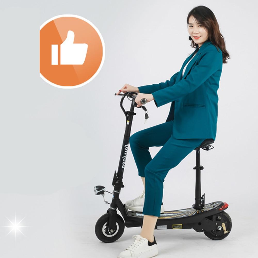 Rollschuhe, Skateboards Und Roller Roller Elektrische Roller Mit Helle Front Led Und Bremse Hinten Licht Einfach Faltbare E-roller Elektrische Fahrrad Für Kind Und Erwachsene Seien Sie In Geldangelegenheiten Schlau