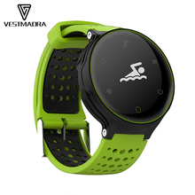VESTMADRA Sport Smart Band IP68 Waterproof Heart Rate Tracker Ultra-long Standby Pedometer Smart Bracelet for IOS Android Phone