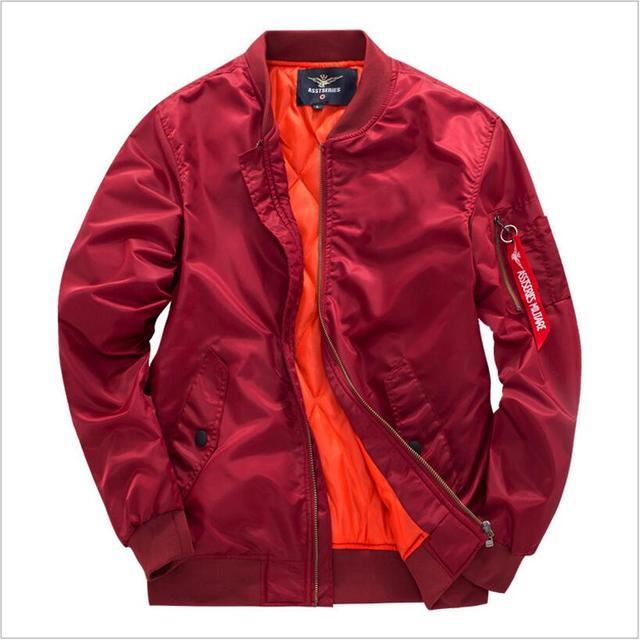 fc5f2fa5eb44e Ma1 Bomber Jacket 2018 Kanye West Tour Pilot Outerwear Men Army Green  Japanese Merch Flight Coat Air Force One 8xl Jacket
