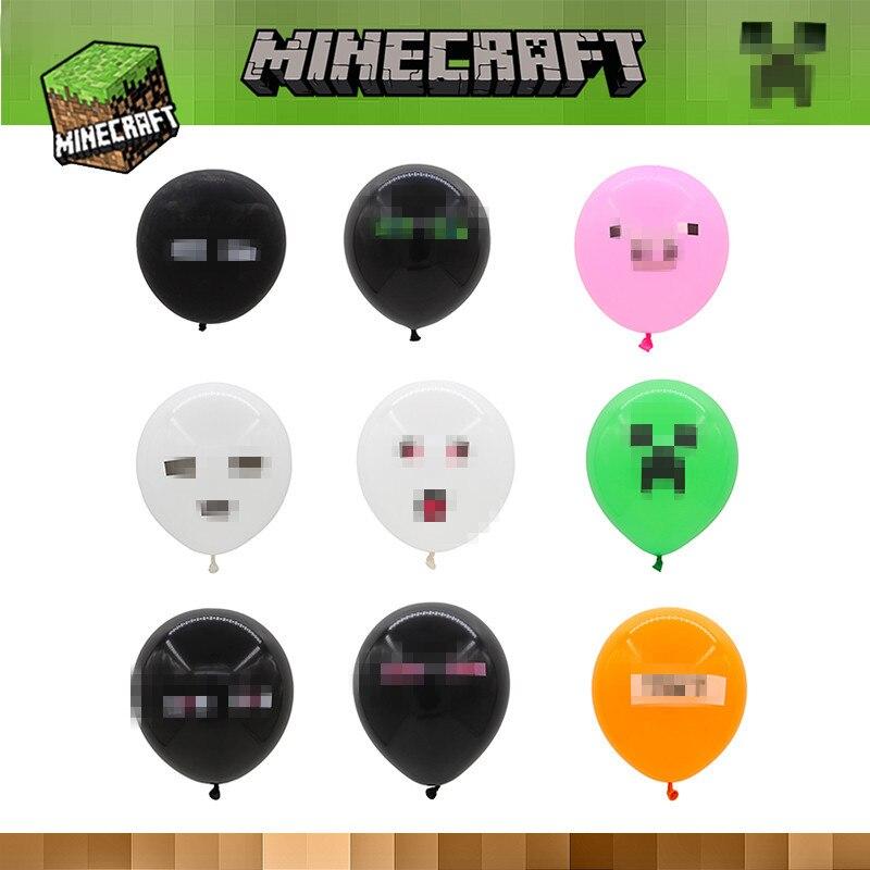 Minecraft Latex Balloons EndermanGhastCreeperMinecraft Birthday - Minecraft spiele geburtstag