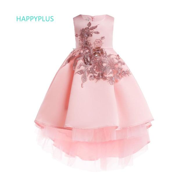 a3abc51c2f52e HAPPYPLUS enfants robe florale filles vêtements 3 4 5 6 7 8 9 10 ans  enfants robe de princesse pour fête mariage robe de noël fille