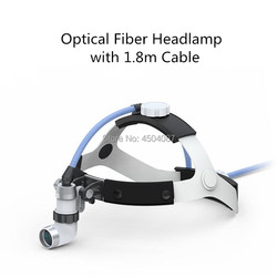 Новая медицинская фара оптического волокна медицинский Налобный фонарик Стоматологическая хирургическая медицинская фара без лампы