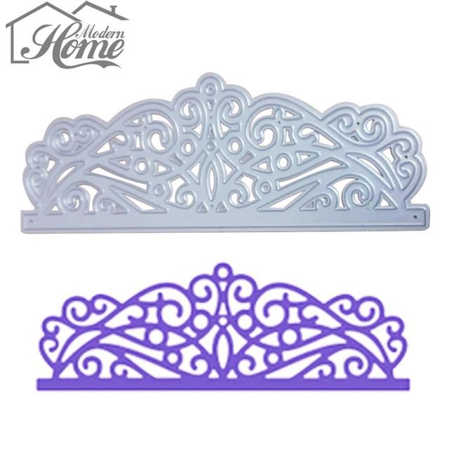 Lace Design Metal Cutting Dies Stencils Paper Card Maker For DIY ...
