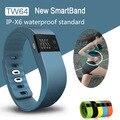 Tw64 rastreador de fitness do bluetooth pulseira inteligente pulseira smartband para ios android pk xaomi mi banda fitbit pedômetro xiaomi