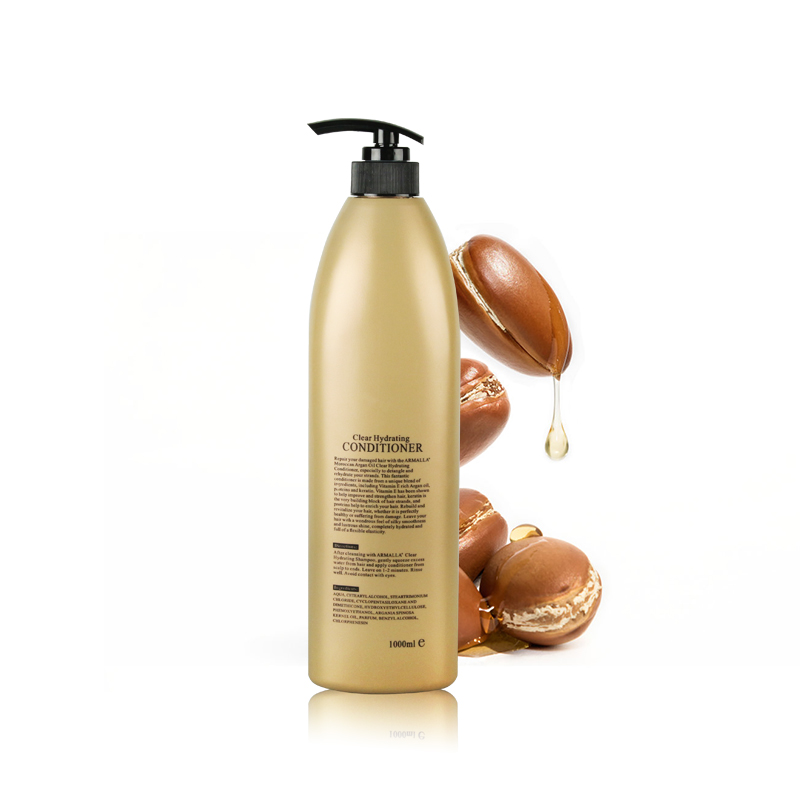 New Products Best Selling 2pcs Armalla Moroccan Argan Oil 1000ml Dry Shampoo and 1000ml Deep Conditioner For Hair Care Products