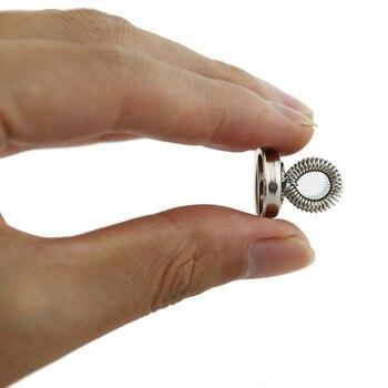 1 szt. Super silny pióro magnetyczne uchwyty, szpilki magnetyczne ze stali nierdzewnej z haczykami sprężynowymi do lodówki, tablica