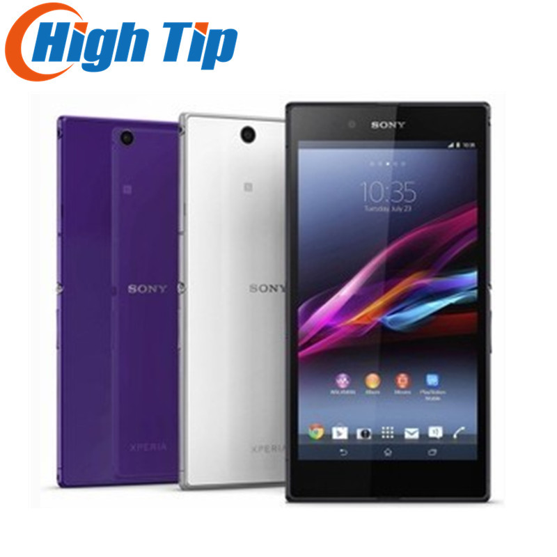 Original Unlocked Sony Xperia Z Ultra XL39h Android Quad Cor 16GB ROM C6802 C6833 GSM 3G