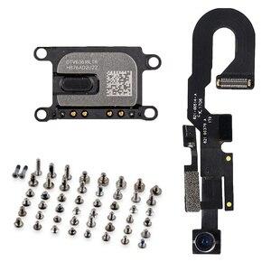 Image 1 - 3pcs/set for iPhone 7 7 Plus Front Camera with Sensor Proximity Light Microphone Flex Cable + Earpiece Speaker + full screws