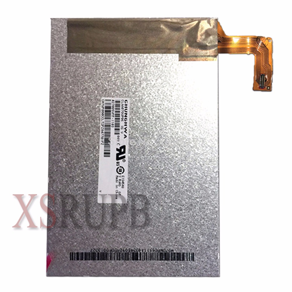 цена на For New Replacement LCD Display Screen HP Slate 7 HD CLAA070WP06 XG 7-inch Free Shipping