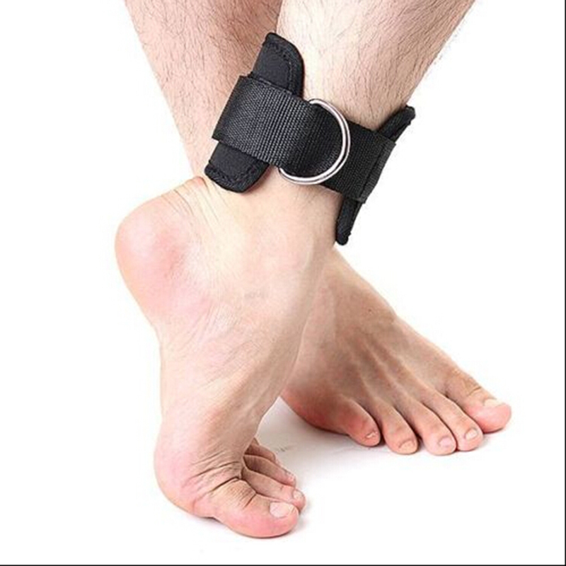 Sports Safety Sports & Entertainment 1pcs Adjustable Ankle Guard Strap D-ring Thigh Leg Pulley Gym Weight Lifting Multi Cable Attachment Fitness Protection At All Costs