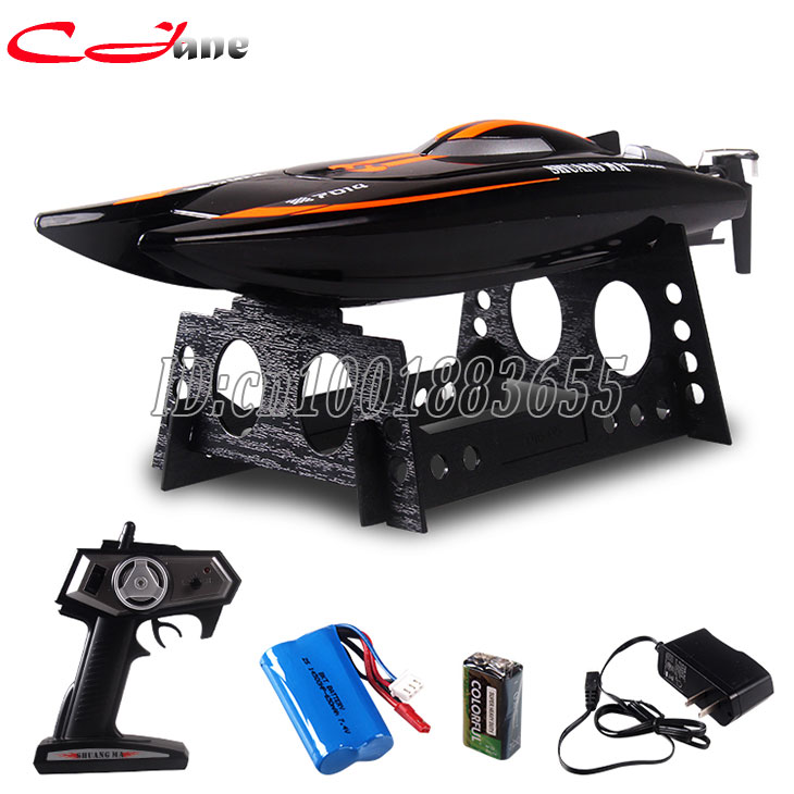 Double horse 7014 high-speed remote control boat yacht 2.4 G 25 km/h model water toy drift airship submarine