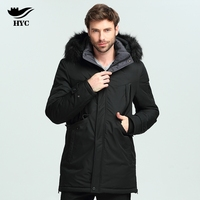 HYC Male Winter Coats Men S Long Trench Coats Men S Windbreaker Military Jackets Anorak Jacket