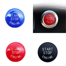 Car Start Stop Engine Push Switch Buttons Trim for BMW 3 Series E90 E92 E93 5 Keyless Button Cover Case Shell