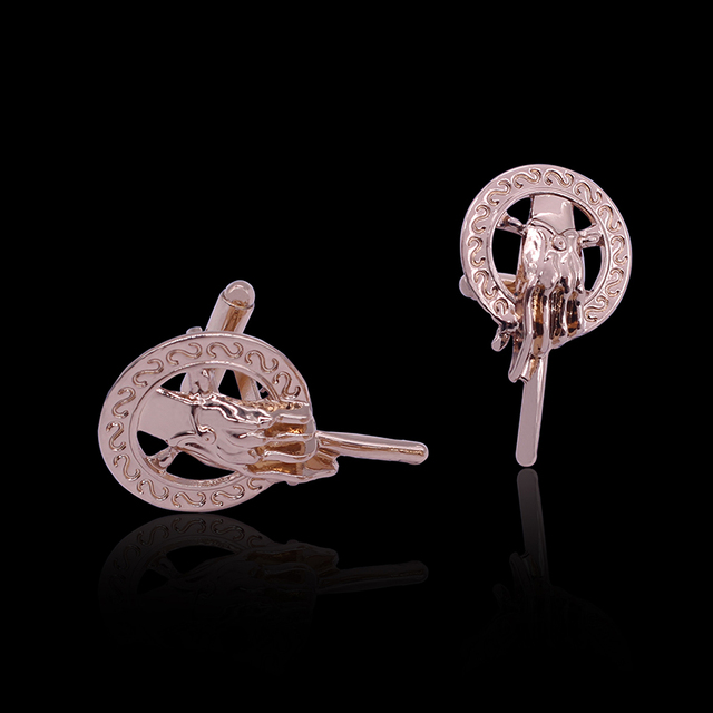 Hand Of The King French Cufflinks