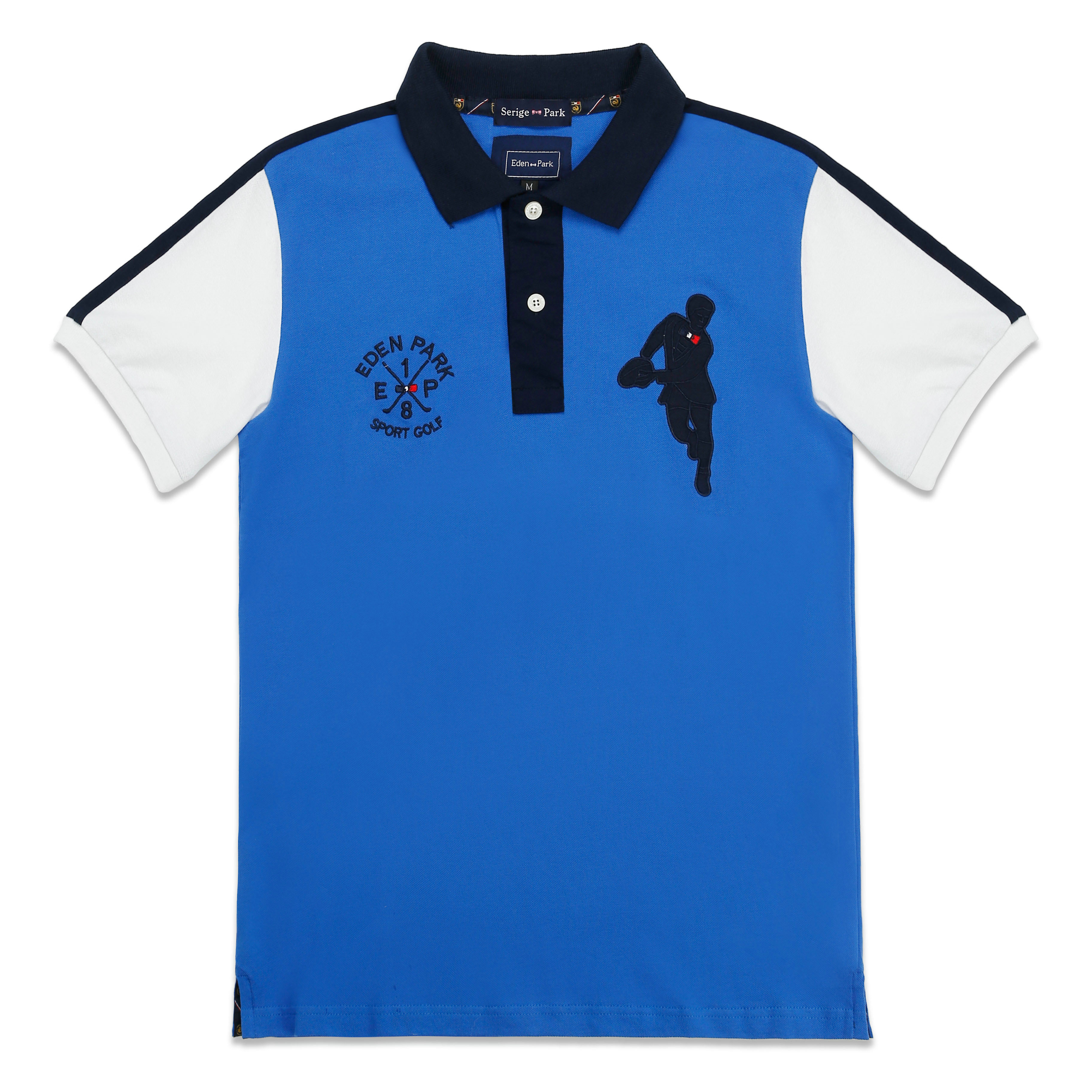 2019 NEW MEN   POLO   SHIRTSUMMER HIGH QUALITY BRAND SERIGE EDEN PARK FRANCE BRAND SUPERIOR COTTON MATERIAL AND EXCELLENT EMBROIDERY