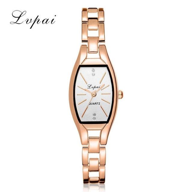 Luxury Women Watches Fashion Casual Bracelet Watch Relogio Stainless Steel Rhine