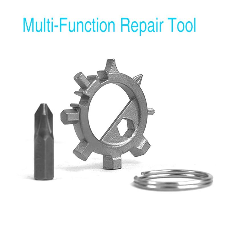 Multi-Function Motorcycle Repair Tool Portable Repair Tools 12-In-1 3/4/5/6/7mm Hexagon Screwdriver Bike Parts Removing Tool