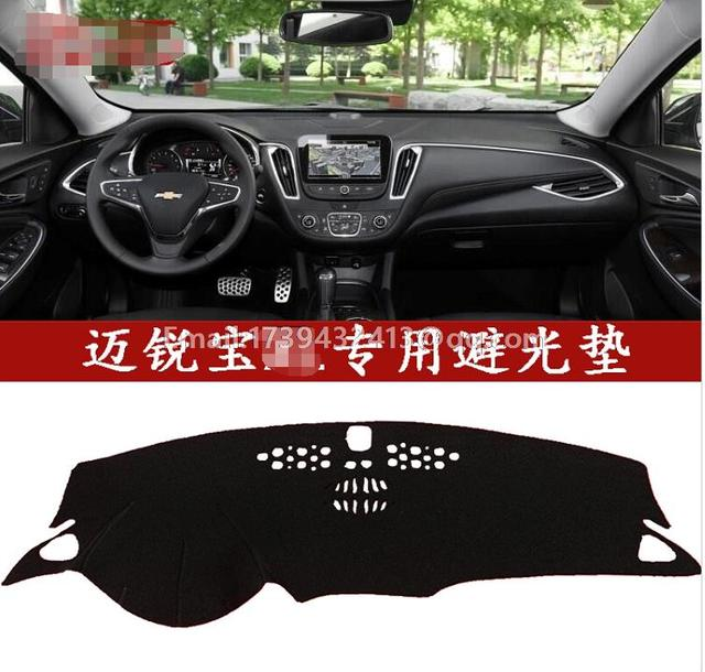 For Chevrolet Holden Malibu 2016 2017 2018 Dashmats Car Styling Accessories Dashboard Cover