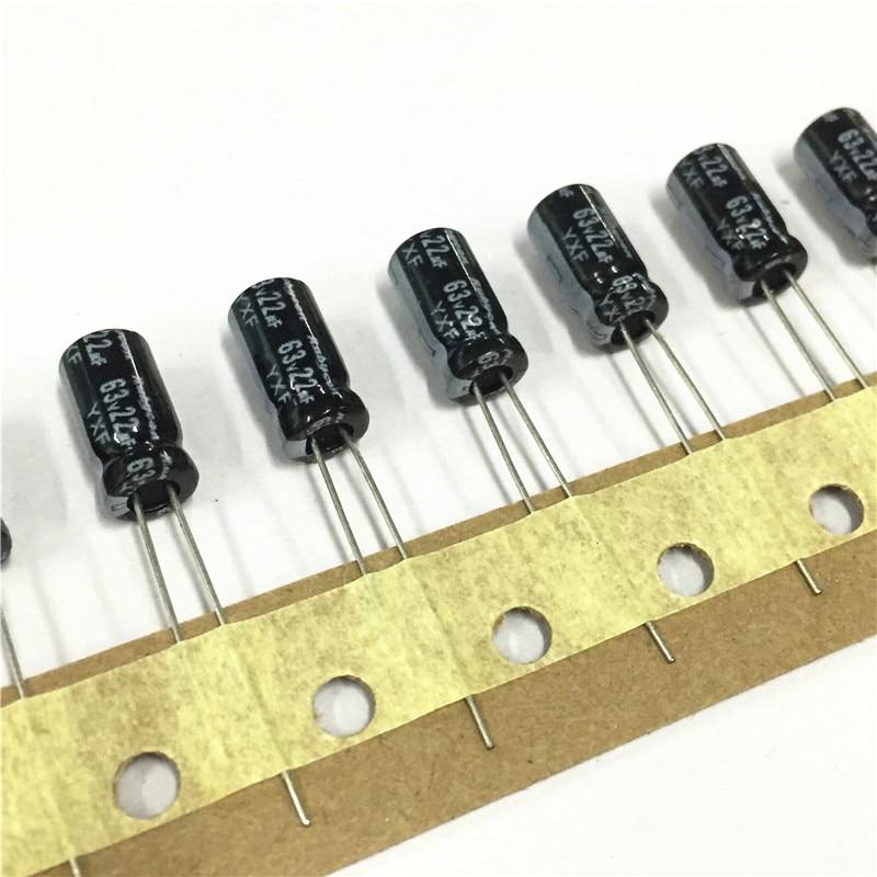47uf 63v Radial Electrolytic Capacitor 63v47uf  Rubycon ZLH 10pcs-