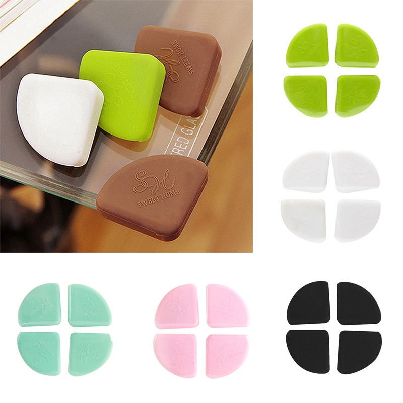 Mother & Kids 4pcs Baby Safety Corner Protector Furniture Corners Angle Protection Child Safety Table Corner Protector Children Protection Edge & Corner Guards