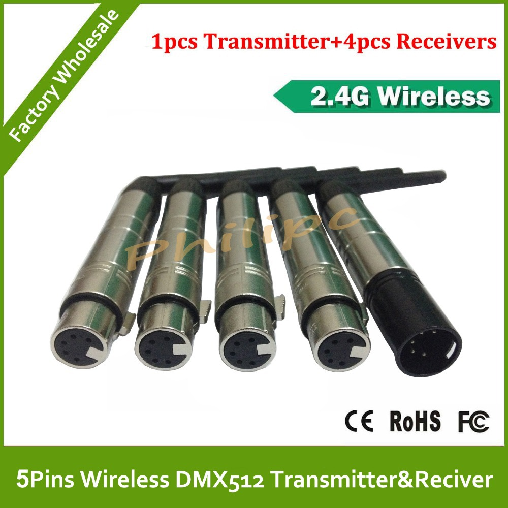 DHL Free Shipping 5 Pins New DMX512 DMX Dfi DJ Wireless system Receiver or Transmitter 2.4G ringo postcards from paradise lp