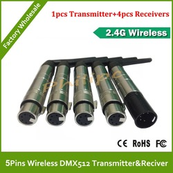 Dhl free shipping 5 pins new dmx512 dmx dfi dj wireless system receiver or transmitter 2.jpg 250x250