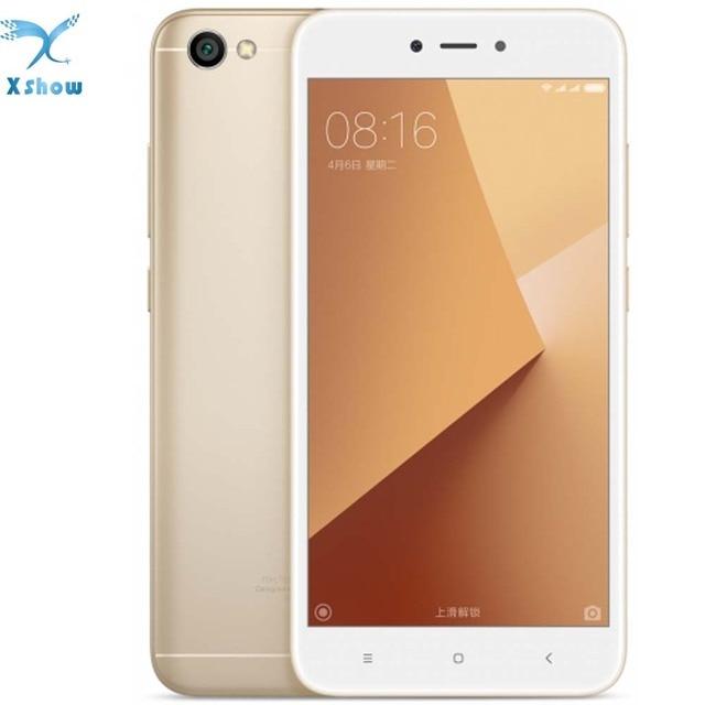 Xiaomi Redmi Note 5A Note5A 2GB RAM 16GB ROM Cellphone Note 5 A Snapdragon 425 Quad Core CPU Smartphone 5.5 Inch 13.0MP phone