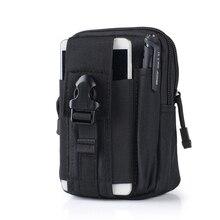 Тактические военный пояса пакет талии мобильного бумажник нейлон телефона путешествия спорт
