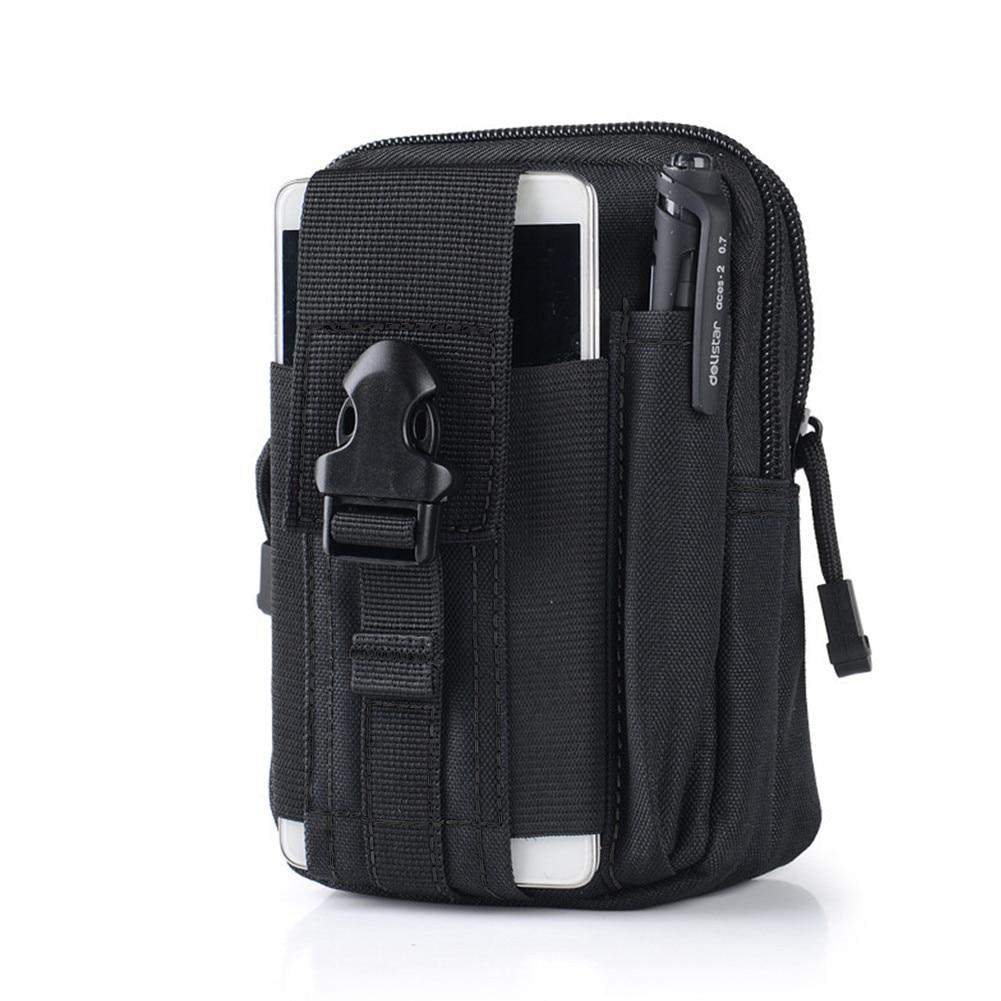 Masculino Adulto Waterproof Belt Bag Men Nylon Mobile Phone Wallet Travel Waist Pack Portable Military Belt Waist Bag