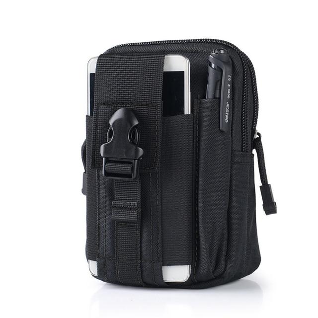 0107b16fd4ac masculino adulto Waterproof Belt Bag Men Nylon Mobile Phone Wallet Travel Waist  Pack Portable Military Belt Waist Bag