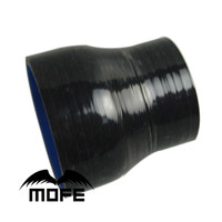 "Mofe 3ply 2 ""a 2.5"" 51mm a 63mm/70mm/76 mmblack bule silicone redutor mangueira acoplador transição turbo tubo de acoplador|reducer hose|silicone hose pipe|silicone turbo pipe -"