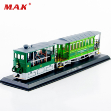 collectible 1:87 scale kid tram bus model toys Atlas green vhicles model G 3/3 (SLM) 1984 diecast bus car model gifts for kids
