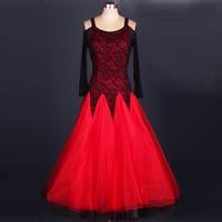 fashion Ballroom dance new dress waltz dancing dress high grade