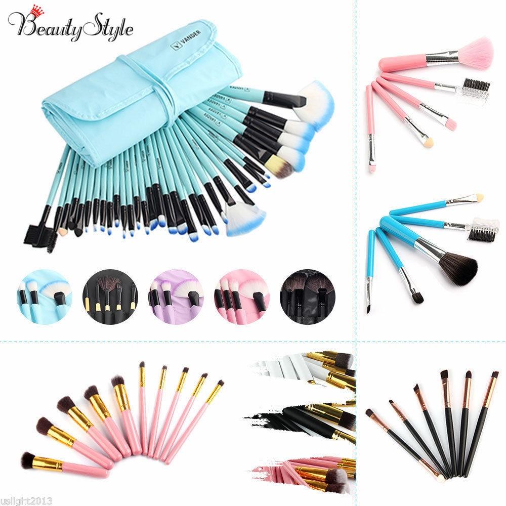 Vander 10 / 20 / 32pcs Makeup Brush Sets Professional Cosmetics Brushes Eyebrow Powder Foundation Creams Maquiagem Make Up Tool