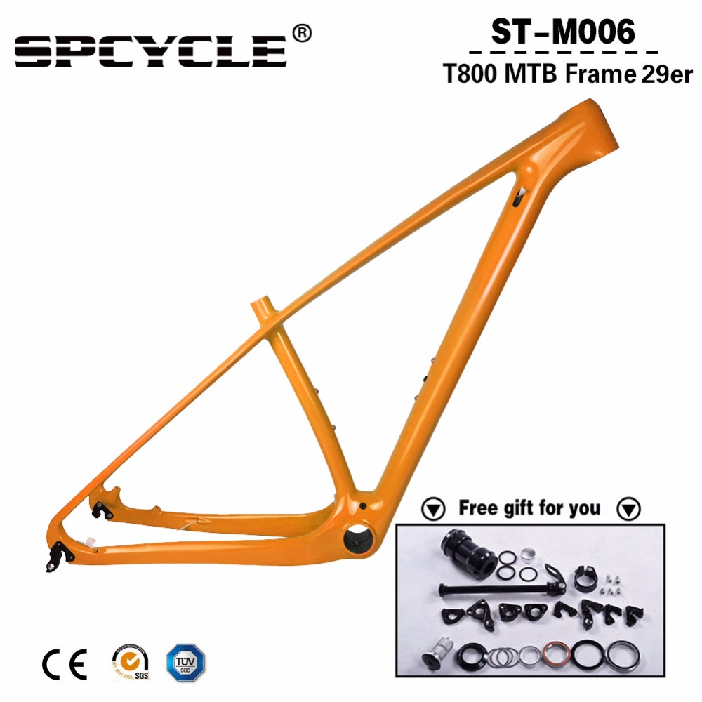 29er Carbon MTB Bike Frames 27.5er/29er Mountain Carbon Bike Frames MTB Bicycle Frame Compatible 142*12mm Or 135*9mm