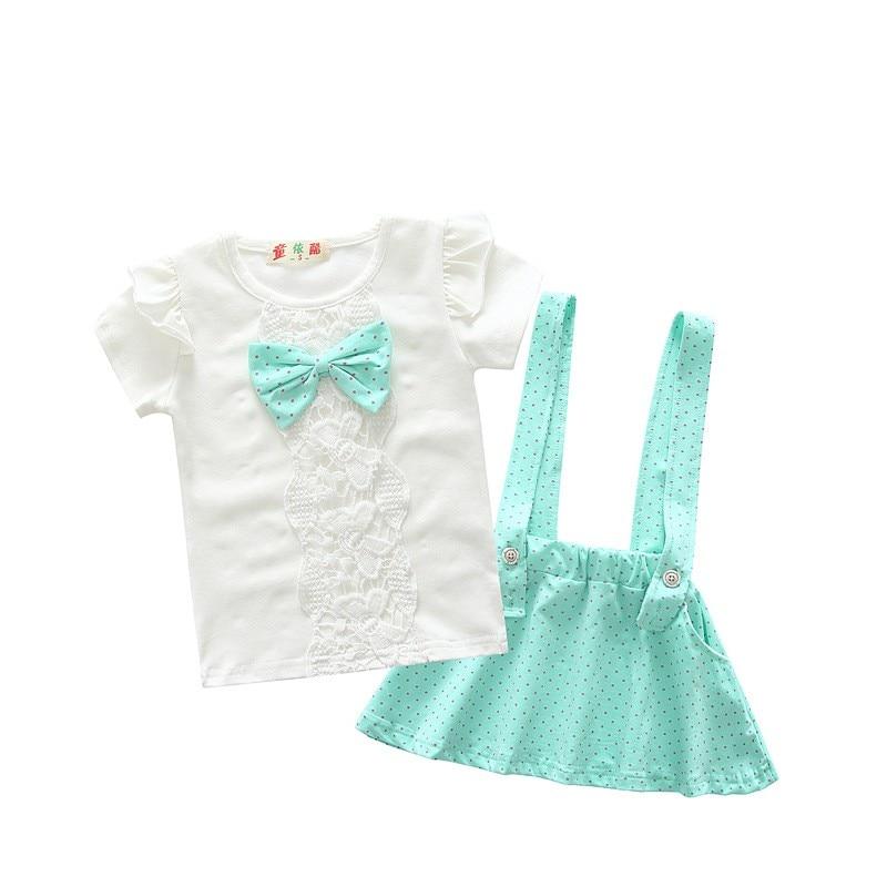 BibiCola toddler children summer baby girls clothing sets