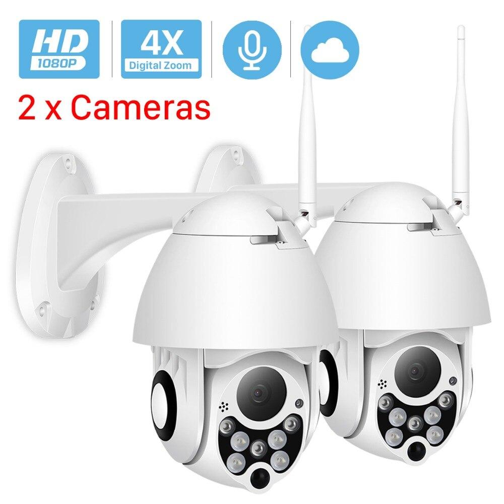 ANBIUX 1080P Cloud Storage Wireless PTZ IP Camera Speed Dome CCTV Security Cameras Outdoor ONVIF Two
