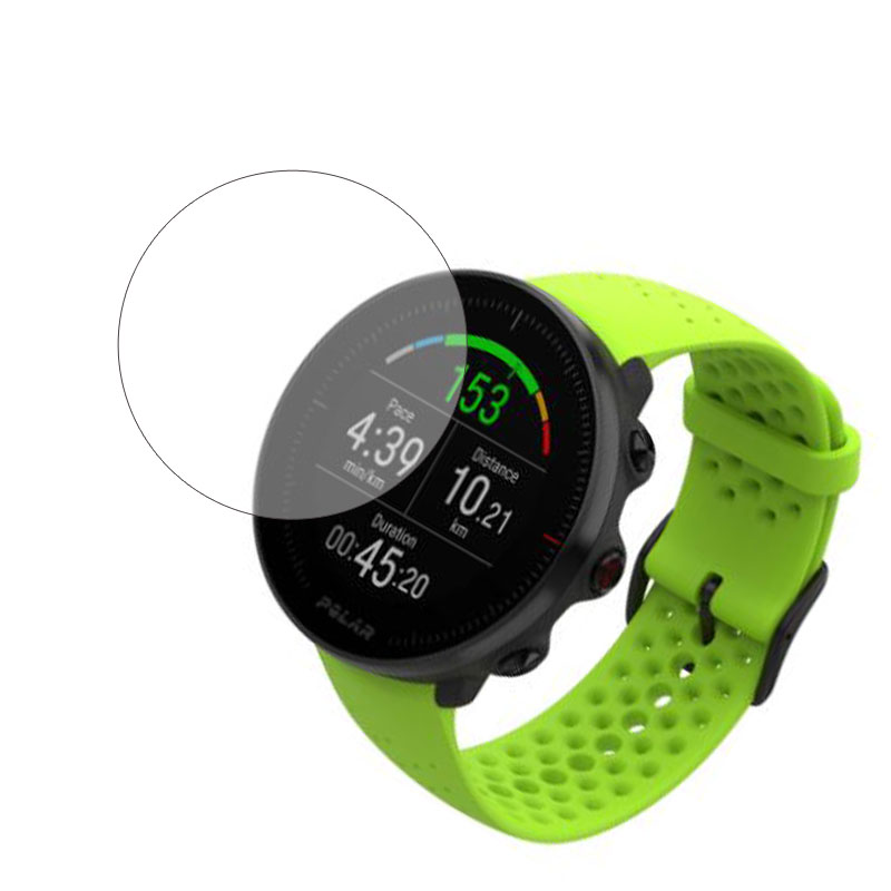 Tempered Glass Clear Protective Film Guard For POLAR Vantage V M Smartwatch Toughened LCD Display Full Screen Protector Cover