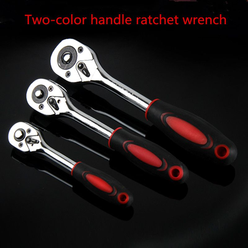 24 Teeth Extending TelescopicQuick Release Ratchet 3 pieces Socket Wrench Tool xkai 14pcs 6 19mm ratchet spanner combination wrench a set of keys ratchet skate tool ratchet handle chrome vanadium