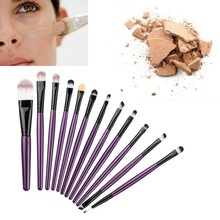 6/8/12 Pcs/set Pro Makeup Brushes Set Make Up Wood Tools Cosmetics Foundation Face Eyeshadow Brush Kit Pincel Maquiagem U2