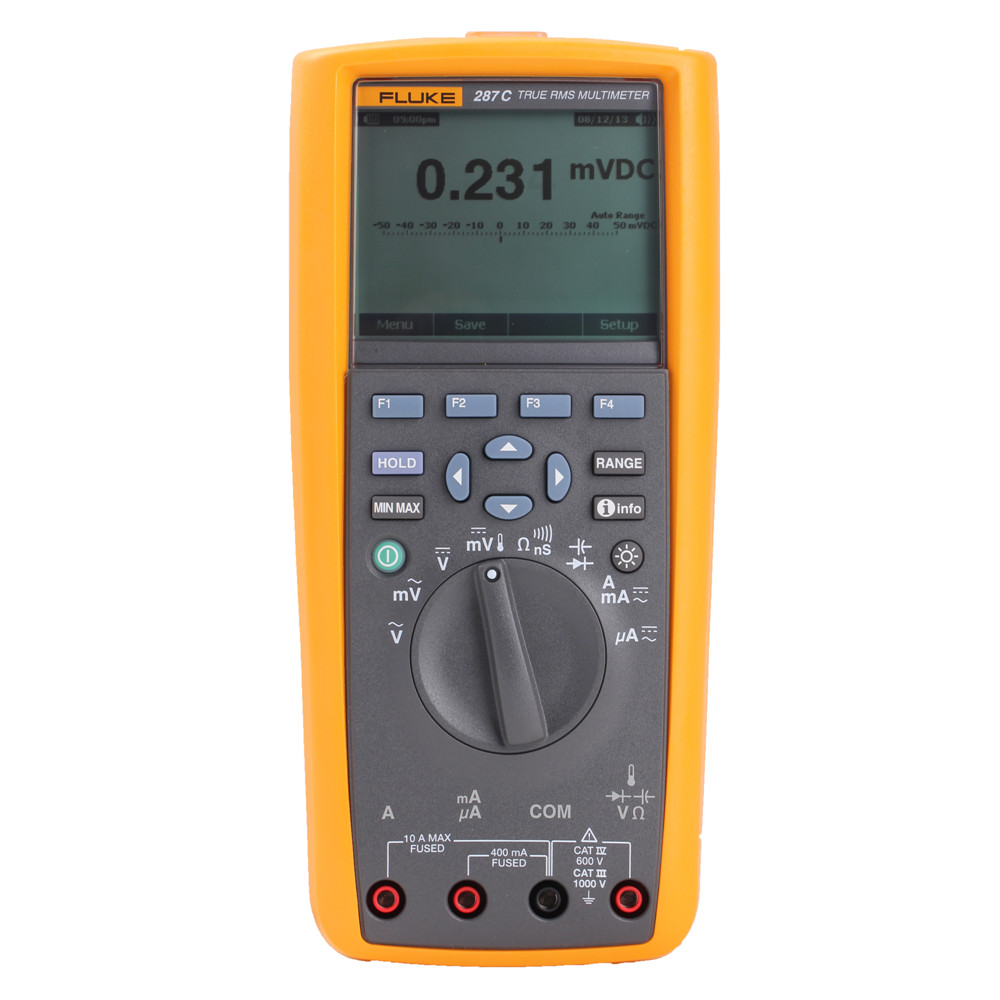 Free shipping Fluke 287C F287CN True Effective Value of Four and a half Capture trend function Digital Multimeter adding customer value through effective distribution strategy