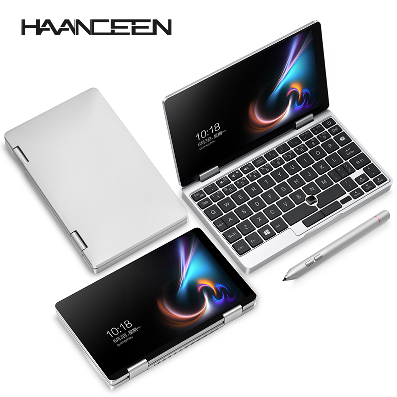One Netbook One Mix 1S Specs Notebook Yoga Pocket <font><b>Laptop</b></font> Intel 3965Y 8GB 128GB SSD Win 10 Mini <font><b>Laptop</b></font> Notebook image