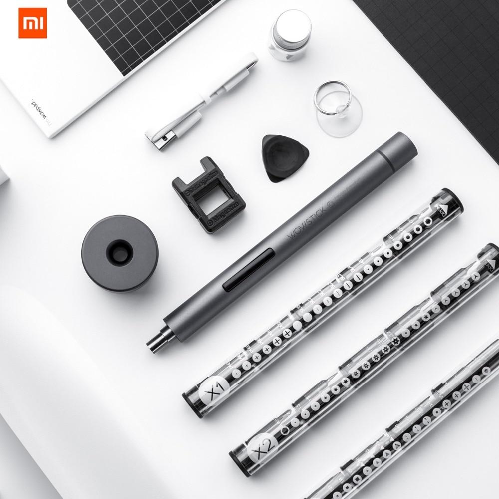 Original XIAO mi mi jia Wowstick 1F + 64 en 1 tournevis électrique mi sans fil Lithium-ion Charge alimentation LED vis mi jia kit de pilote - 3