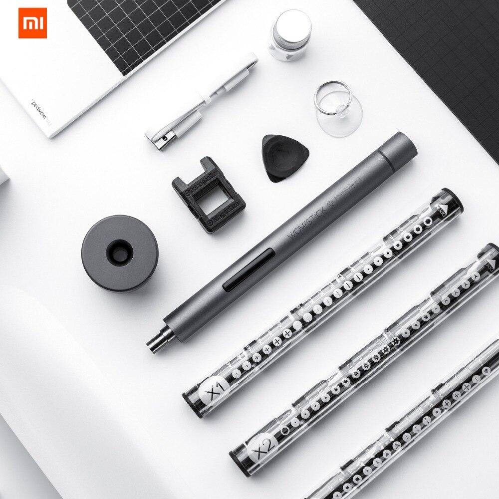 Original Xiaomi mi jia Wowstick 1F + 64 en 1 tornillo eléctrico mi controlador inalámbrico de carga de iones de litio LED de tornillo mi jia conductor kit - 3