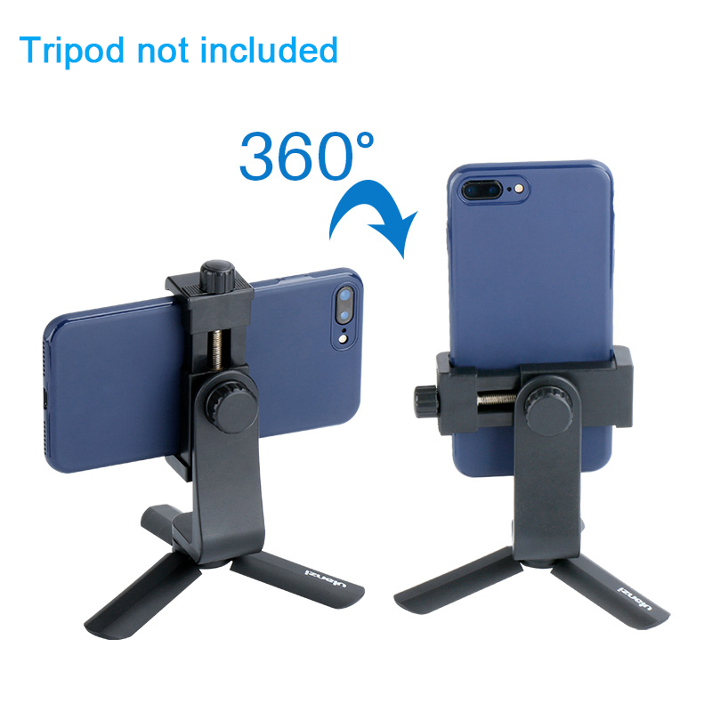 Universal Phone Tripod Mount Adapter Mobiltelefon Clipper Holder - Kamera og foto - Foto 3