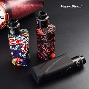 Image 5 - Оригинальный Новый боксмод Vapor Storm ECO Pro, стартовый набор, вейп ABS 5 80 Вт, переменная мощность TC 510, резьба Lion RDA, катушка для самостоятельной сборки электронной сигареты