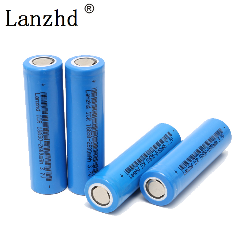 rechargeable Battery 18650 batteries 3.7V lithium rechargeable Batteries Li-ion ICR18650 26F battery for samsung 18650 image