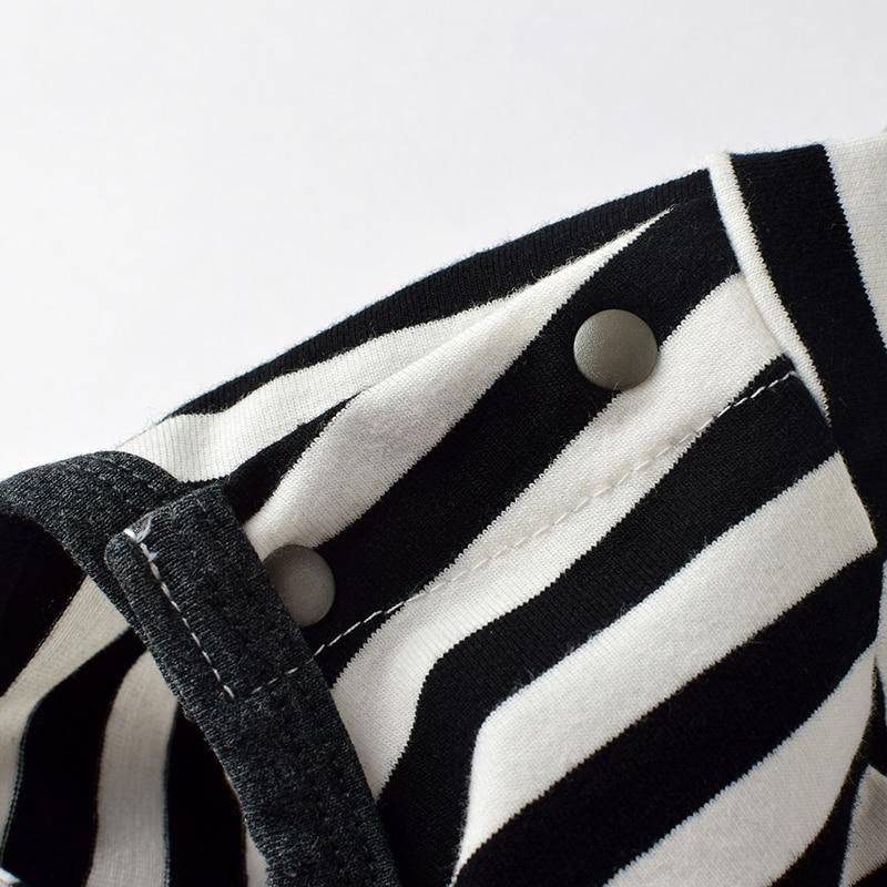 Zomer Zuigeling Jongen Katoen Rompertjes Casual Gestreepte Pasgeboren - Babykleding - Foto 5